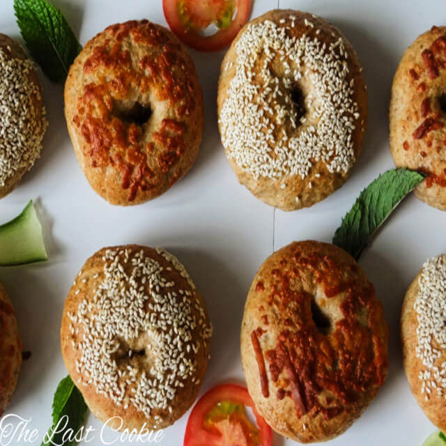 New York Style Whole Wheat Bagels